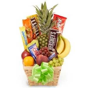 Fruit and Candy Basket